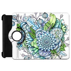 Peaceful Flower Garden 2 Kindle Fire HD 7  (1st Gen) Flip 360 Case