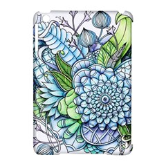 Peaceful Flower Garden 2 Apple Ipad Mini Hardshell Case (compatible With Smart Cover)