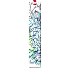 Peaceful Flower Garden 2 Large Bookmark