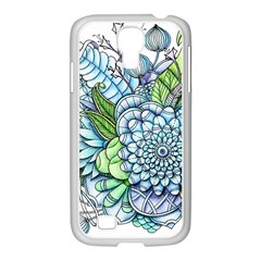 Peaceful Flower Garden 2 Samsung Galaxy S4 I9500/ I9505 Case (white)