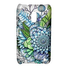 Peaceful Flower Garden 2 Nokia Lumia 620 Hardshell Case