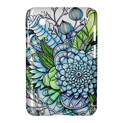 Peaceful Flower Garden 2 Samsung Galaxy Tab 2 (7 ) P3100 Hardshell Case