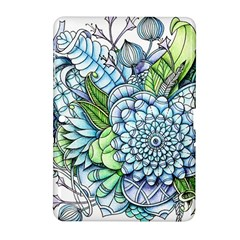 Peaceful Flower Garden 2 Samsung Galaxy Tab 2 (10.1 ) P5100 Hardshell Case