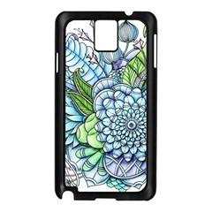Peaceful Flower Garden 2 Samsung Galaxy Note 3 N9005 Case (Black)