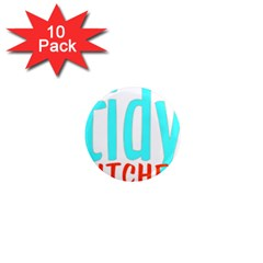Tidy Bitcheslarge1 Fw 1  Mini Button Magnet (10 pack)