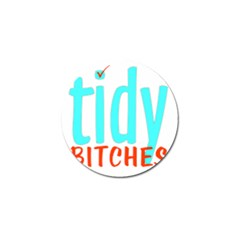 Tidy Bitcheslarge1 Fw Golf Ball Marker 4 Pack