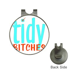 Tidy Bitcheslarge1 Fw Hat Clip with Golf Ball Marker