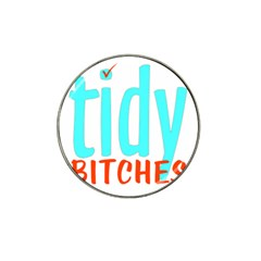 Tidy Bitcheslarge1 Fw Golf Ball Marker (for Hat Clip)