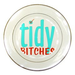 Tidy Bitcheslarge1 Fw Porcelain Display Plate