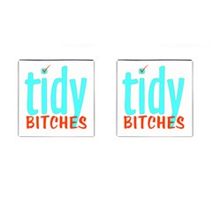 Tidy Bitcheslarge1 Fw Cufflinks (Square)