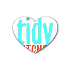 Tidy Bitcheslarge1 Fw Drink Coasters 4 Pack (Heart)