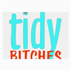 Tidy Bitcheslarge1 Fw Glasses Cloth (Large, Two Sided)