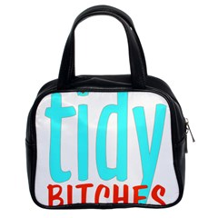 Tidy Bitcheslarge1 Fw Classic Handbag (Two Sides)