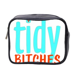Tidy Bitcheslarge1 Fw Mini Travel Toiletry Bag (two Sides)