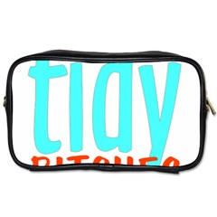 Tidy Bitcheslarge1 Fw Travel Toiletry Bag (two Sides)