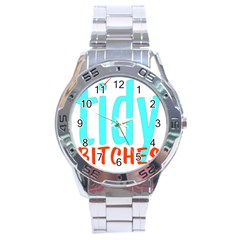 Tidy Bitcheslarge1 Fw Stainless Steel Watch