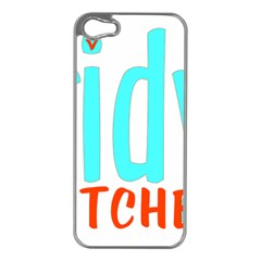 Tidy Bitcheslarge1 Fw Apple iPhone 5 Case (Silver)