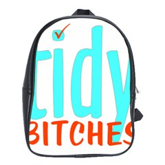 Tidy Bitcheslarge1 Fw School Bag (xl)