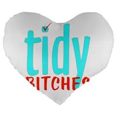Tidy Bitcheslarge1 Fw 19  Premium Heart Shape Cushion
