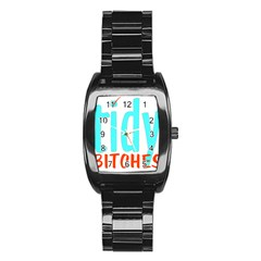 Tidy Bitcheslarge1 Fw Stainless Steel Barrel Watch