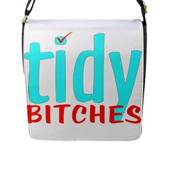 Tidy Bitcheslarge1 Fw Flap Closure Messenger Bag (Large)