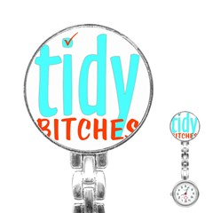 Tidy Bitcheslarge1 Fw Stainless Steel Nurses Watch