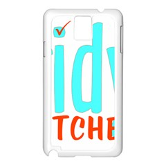 Tidy Bitcheslarge1 Fw Samsung Galaxy Note 3 N9005 Case (White)