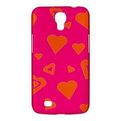 Hot Pink And Orange Hearts By Khoncepts Com Samsung Galaxy Mega 6 3  I9200 Hardshell Case