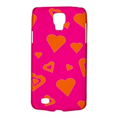 Hot Pink And Orange Hearts By Khoncepts Com Samsung Galaxy S4 Active (I9295) Hardshell Case