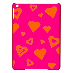 Hot Pink And Orange Hearts By Khoncepts Com Apple Ipad Air Hardshell Case