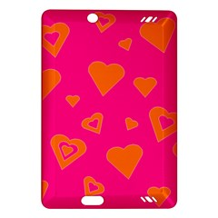 Hot Pink And Orange Hearts By Khoncepts Com Kindle Fire Hd 7  (2nd Gen) Hardshell Case