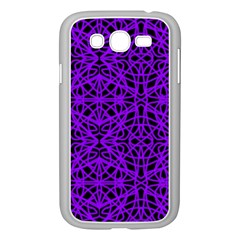 Black and Purple String Art Samsung Galaxy Grand DUOS I9082 Case (White)