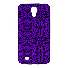 Black and Purple String Art Samsung Galaxy Mega 6.3  I9200 Hardshell Case