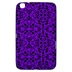 Black and Purple String Art Samsung Galaxy Tab 3 (8 ) T3100 Hardshell Case