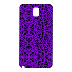 Black and Purple String Art Samsung Galaxy Note 3 N9005 Hardshell Back Case