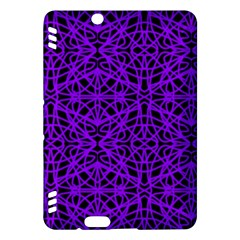 Black and Purple String Art Kindle Fire HDX 7  Hardshell Case