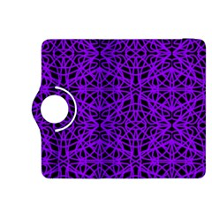 Black and Purple String Art Kindle Fire HDX 8.9  Flip 360 Case