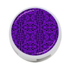 Black And Purple String   7200x7200 4 Port Usb Hub (two Sides)