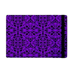 Black And Purple String   7200x7200 Apple iPad Mini Flip Case