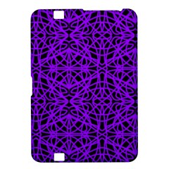 Black And Purple String Art Kindle Fire Hd 8 9  Hardshell Case