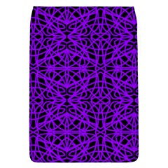Black and Purple String Art Removable Flap Cover (Large)