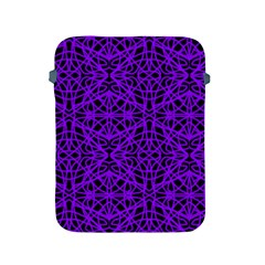 Black and Purple String Art Apple iPad 2/3/4 Protective Soft Case