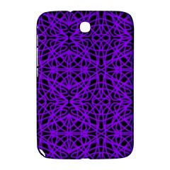 Black and Purple String Art Samsung Galaxy Note 8.0 N5100 Hardshell Case