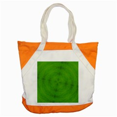 Go Green Kaleidoscope Accent Tote Bag