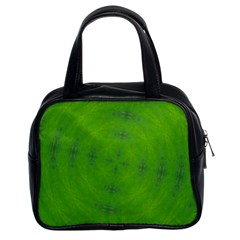 Go Green Kaleidoscope Classic Handbag (two Sides)