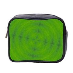 Go Green Kaleidoscope Mini Travel Toiletry Bag (two Sides)