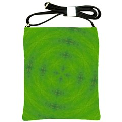 Go Green Kaleidoscope Shoulder Sling Bag