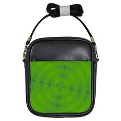 Go Green Kaleidoscope Girl s Sling Bag