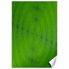 Go Green Kaleidoscope Canvas 12  x 18  (Unframed)