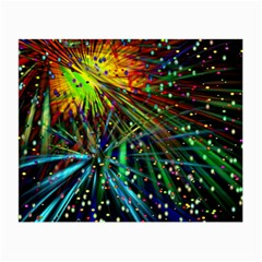 Exploding Fireworks Glasses Cloth (Small)